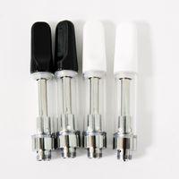 ingrosso tubi monouso-TH205 ceramica 0.5ml 0.8ml 1.0ml vetro spesso cartucce Vape olio vuoti penne Vape monouso Vape cartucce tubo pacchetto PVC