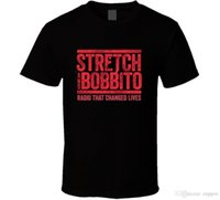 changement de radio achat en gros de-Stretch et Babbito Radio qui change des vies Musique T-shirt Mode Hommes T-shirt Vêtements Imprimé Coton Man O Cou Top