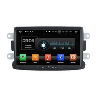 рулевое колесо renault оптовых-Автомобильный DVD-плеер для RENAULT Duster 8inch Octa-core 4GB RAM Andriod 8.0 с GPS, управлением рулевого колеса, Bluetooth, радио