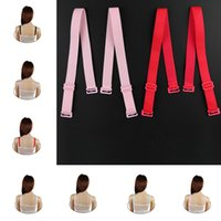 sangle de soutien-gorge glisse à l'épaule achat en gros de-Femmes Bra Bretelles Lady Bra Bretelles anti-dérapantes Ceintures Réglables Ceinture pour Soutien-Gorge Accessoires T2B081