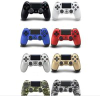 Controlador inalámbrico Bluetooth PS4 Game Controller para PlayStation 4 Controlador PS4 Joystick Games 8 colores Hing quality DHL Free