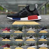 Wholesale Flooring Borders - 2018 New Original NMD_XR1 PK Casual Shoes Cheap R1 NMD XR1 Runner japan Primeknit OG PK Human Race Black White Men Women Sneakers