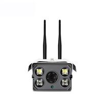 dış mekan hd kamera sd toptan satış-Akıllı 720P HD Açık su geçirmez P2P Kablosuz IP kamera dahili mikro ve hoparlör SD kart APP tarafından iki yolu sesli HD WIFI Camer uzaktan izle