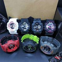 mode-displays großhandel-Hot relogio G WG männer sportuhren GW1000 Anzeige LED Mode armee militärische schockierende uhren männer Casual Uhren R001
