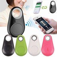 телефоны для пожилых людей оптовых-Мини GPS трекер Bluetooth Key Finder сигнализации 8G двухсторонний пункт Finder для детей, домашних животных, пожилых людей, кошельки, автомобили, телефон розничной упаковке DHL