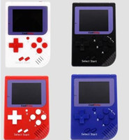 Wholesale Handheld Color - CoolBaby RS-6 Portable Retro Mini Handheld Game Console 8 bit Color LCD Game Player For FC Game free DHL.