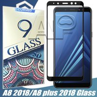 Wholesale Optimus Cover - For Samsung A8 2018 LG Aristo 2 X210 stylo 3 Plus Aristo Fiesta LTE X Power 2 K10 LV7 Full Cover Tempered Glass