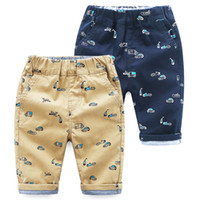 Wholesale baby boys denim shorts - Vieeolove Baby Boys Car Shorts Pants 2018 New Spring Summer Fashion Pants VL-992