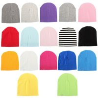 Wholesale crochet hats for sale for sale - Group buy Hot Sale Baby Soft Crochet Hedging Caps For M Newborn Baby Boy Girl Hat Coon Beanie Warm Candy Color Cap