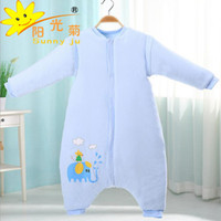 Wholesale Thick Winter Quilts - Sunny Ju Baby Sleeping Bag Winter Legs Infant Sleepsacks Toddler Sleep Sack Thick Warm Cotton Kids Anti-kick Quilt Size M,L