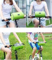Wholesale dirt bike tubes - High Quality Phone Waterproof Bicycle Bike Bag Rainproof Top Tube Cycling Riding Front Head Bags Pannier Cell Phone Bike Accessories Cosmos