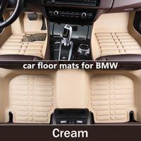 Wholesale M4 Car - Carpet Custom Car Floor Mats for BMW x1 x3 x4 X5 X6 M4 M5 M6 2010 2012 2014 2017 2018 years Car-styling Car Mats vase 2114