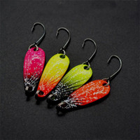 Wholesale spinner pesca for sale - Group buy 3g Fishing Metal Spoon Baits Sequins Spinner Fishing Lures Hook Trout Mini Wobbler Artificial Dragonfly Design Catch Fishes Pesca yj ZZ