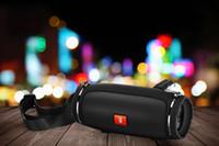 alto-falante bluetooth alto-falante sem fio hifi venda por atacado-Wrdlosy Mini E3 Sem Fio Waterpfoof Bluetooth Speaker Music Box Portátil Coluna Ao Ar Livre Coluna Speaker Hifi Altifalante Com USB TF Música
