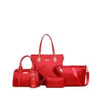 Wholesale lattice sequins for sale - Group buy Pink sugao designer bags for women set purse Sac à main tote bag crossbody purse wallet women bags wallet clutch color