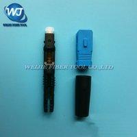connecteur plat achat en gros de-10 PCS / lot zhifang Fibre Optique Câble Plat SC / UPC Type Connecteur / Connecteur Rapide FTTH De meilleure qualité que 3M 8802