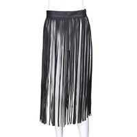 Wholesale white party sex online - Sexy Tassel Skirt Charming Party Wear Costumes Erotic Play Adult Sex Toys for Women Black White