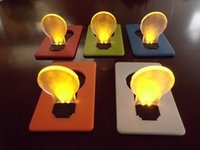 Wholesale Portable Search - Novelty Items Emergency Small THIN Portable LED Card Lamp Pocket Lamp Nightlight Wallet Size Hot Search