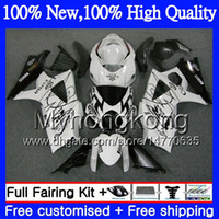 Wholesale Suzuki Motorcycle Fairings Corona - Bodys Motorcycle For SUZUKI GSXR-1000 K7 GSX-R1000 GSXR 1000 07 08 31MY13 GSXR1000 Black CORONA 07 08 Bodywork GSX R1000 2007 2008 Fairing