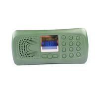 ingrosso lettore mp3 di uccelli-17 Keys Hunting Bird Caller Bird Decoy Sound Altoparlante MP3 con timer off / on 110 suoni di uccello integrati