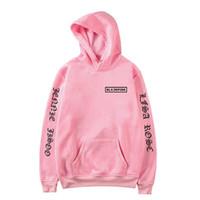 pink clothing al por mayor-KPOP coreano Girl Group Blackpink Sudaderas con capucha Sudaderas Mujeres Negro Rosa Sudadera con capucha Camisas Feminina KPOP Blackpink Ropa