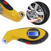 Wholesale new car diagnostic online - New Tire Pressure Gauge Tyre Wheel Air Tester Portable LCD Digital Diagnostic Repair Tools For Auto Car Motorcycle