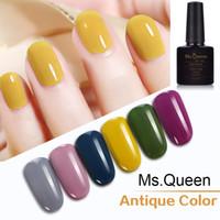 ingrosso chiodi antichi-Ms. Queen Antique color Serie Nail Gel Polish Gorgeous Color UV Gel Polish 10ml Soak Off Vernice UV Varnish