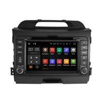 Wholesale car stereo kia sportage - Android 6.0 7.1 4+32GB Car DVD Player GPS Navigation for KIA SPORTAGE R 2010 2011 2012 with Radio BT USB AUX Camera Map Canbus