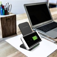 Wholesale apple input - G100 Wireless Charger Fast Charging Micro USB Input Non-slip Phone Holder Power Charging For Samsung