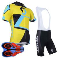 cycling jerseys sets Australia - SCOTT Mens Cycling Jersey Sets MTB Cycling Pads Racing Bicycle Clothing Breathable Bike Jerseys Maillot Ropa Ciclismo 92740J