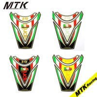 Wholesale Tank Stickers For Car - MTKRACING 3D Decal For APRILIA RSV4 RF RSV4 RR TUONO V4 1100 FACTORY TUONO V4 RR Gas Oil Fuel Tank Pad Protector Car Sticker
