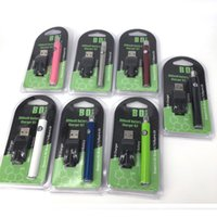 bestseller ecig großhandel-Bestseller dicke Ölkartusche 510 Batterie 350mAh Vorheizbatterien 5 klicken Sie auf-aus schlanke VV Batterie Ecig Vape Stift mit USB-Ladegerät