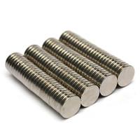 Wholesale Neodymium Fridge Magnets - 100pcs Dia. 8mm x 1.5mm N50 Round Magnet Rare Earth Neodymium Permenent Magnets Circular Art Craft Fridge Magnet 8 x 1.5mm