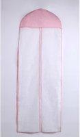 ingrosso abito caldo rosa stock-Vendita calda di trasporto libero bianco e rosa abiti da sposa borse di alta qualità in magazzino accessorio di nozze moda nuovo arrivo A08