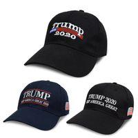 weihnachten hysteresen großhandel-Weihnachten 5 Farbe Stickerei Trumpf 2020 machen Amerika wieder groß Donald Trump Baseball Caps Baseball Caps Erwachsene Sport Hüte Snapbacks