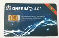 iphone t mobile оптовых-НОВАЯ ONESIM Разблокировка для US / T-mobile, ATT, других операторов iPhone Fido GSM / WCDMA / LTE4G для ios 12.X Автоматическое всплывающее меню