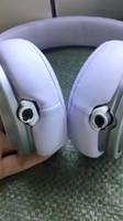 marques de casque achat en gros de-Annulation de bruit Headset Top Quality Wired Headphone profession Écouteur avec boîte de scellé paquet reailail marque PRO livraison gratuite DHL