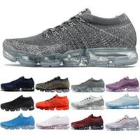 6e15ed4f4 Nike Air Max Vapormax 2018 Nuevo Rainbow 2018 SEA VERDADERO Zapatos de  mujer Shock Running para hombres de moda de calidad real Casual Maxes  Sports Sneakers