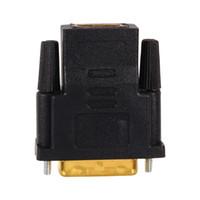 caja convertidora hdtv hdmi al por mayor-Cables de audio VBESTLIFE chapados en oro DVI 24 + 1 a HDMI Convertir convertidores de adaptador hembra a macho para PC HDTV Proyector de TV PS3