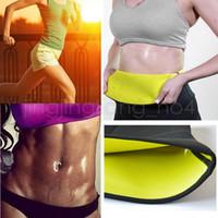 Wholesale waist training corsets online - Super Stretch Neotex Hot Shapers Slimming Waist Training Belt Women Slimming Body Shaper Corset GGA528