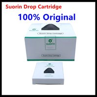 Wholesale cartridge kits - 100% Authentic Suorin Drop Cartridge Pods 2ml Unique Coil Head Perfect for Suorin Drop Starter Kit DHL Free