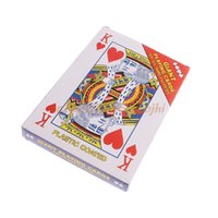 Wholesale Playing Cards Poker Size - Classic Paper Poker Huge Size 54 Playing Cards Fun Table Games Gift 175x125mm #H030#