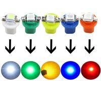 lâmpada de painel de 12v venda por atacado-10 pcs Verde B8.5D 509 T B8.5 5050 Led 1 SMD Lâmpada T5 Auto Cunha Auto Car Calibre Dash Dashboard Instrumento Luz 12 V Car Styling