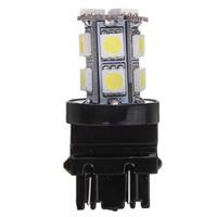 Wholesale car lamp bulb 3157 resale online - 10X T25 SMD LED Pure White Car Auto Stop Tail Brake Turn Lights Lamps Bulbs DC12V