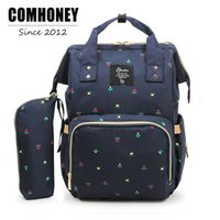 Wholesale Backpack Diaper Bag Fashion Mummy Maternity Nappy Bag cm Changing Bag Wet Organizer Traveling Backpack Baby Nursing Bag