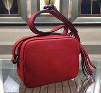 Wholesale medium camera bag - Top Quality Hot Design Shoulder Bag 308364 Ladies Tassel Bag 7A Genuine Leather Messenger Bag Women Fashion Camera Handbags