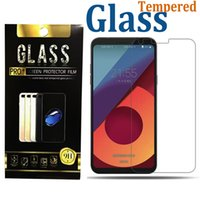 Wholesale Screen For Alcatel - For LG Aristo 2 Zte Blade Force Avid 4 Alcatel idol 5 A30 fierce Tempered Glass 9H Clear Screen Protector With Paper Package