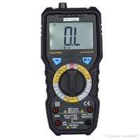 medidor de frecuencia de voltaje al por mayor-Multímetros digitales Bside AC / DC Corriente de voltaje de corriente Probadores de resistencia de frecuencia de capacitancia Medidores de verdadero RMS