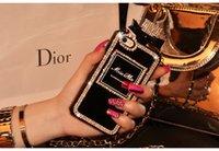 perfumes para móvil al por mayor-Caja de lujo del teléfono móvil de la botella de perfume del aire acondicionado de la moda para el regalo agradable del iphone 7/8 xs max xr