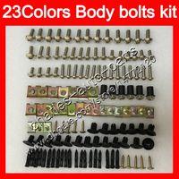Wholesale Kit Fairings Kawasaki Zx6r 1995 - Fairing bolts full screw kit For KAWASAKI NINJA ZX6R 94 95 96 97 ZX-6R 6 R ZX 6R 1994 1995 1996 1997 Body Nuts screws nut bolt kit 23Colors